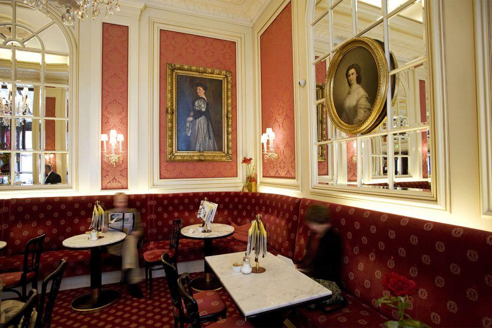 Un lieu de résidence apprécié, Café Sacher, Les arts et la culture, Vienne, Autriche