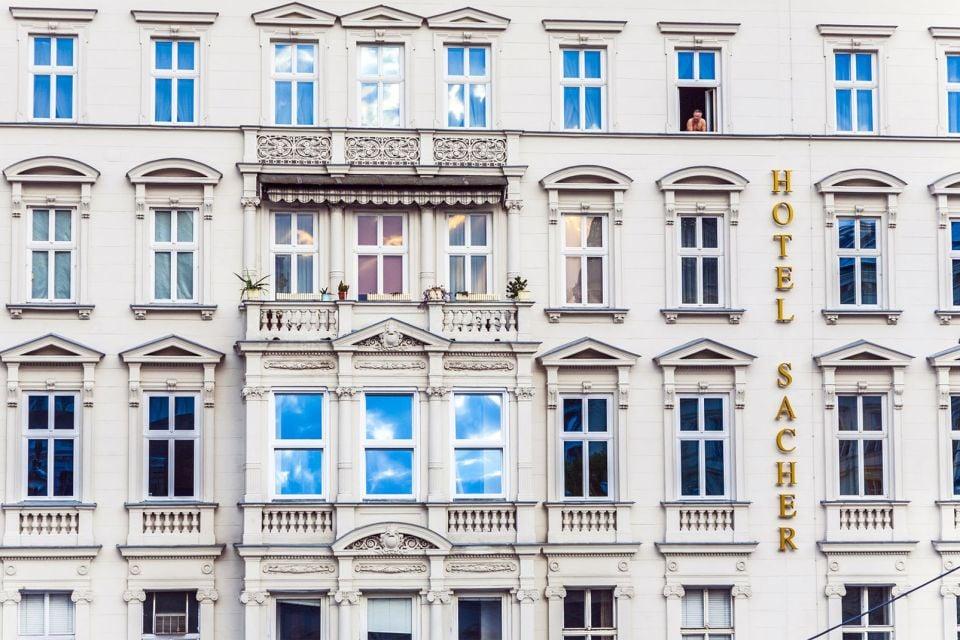 L'hôtel Sacher, Café Sacher, Les arts et la culture, Vienne, Autriche