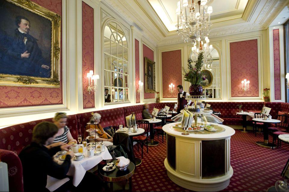 Café Sacher, Arte y cultura, Viena, Austria