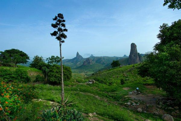 Los montes Mandara , Nigeria