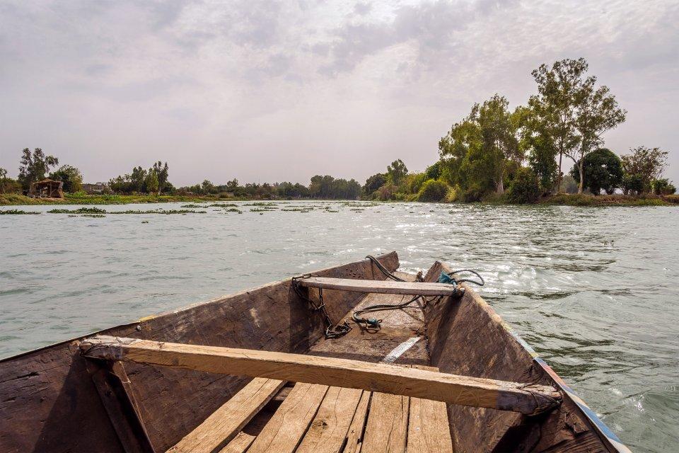 El delta del Níger, Las costas, Nigeria