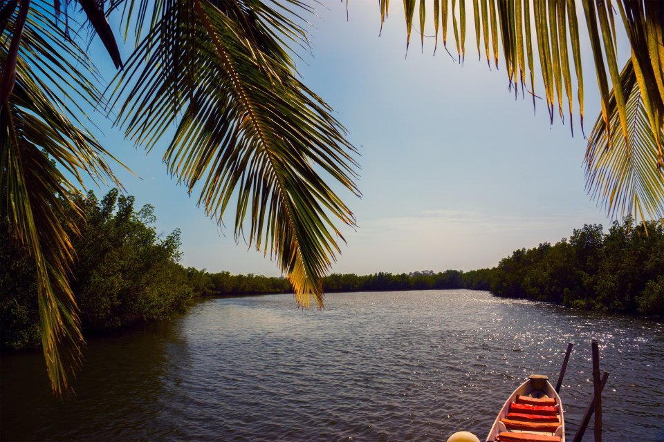La isla de Brass, Las costas, Nigeria