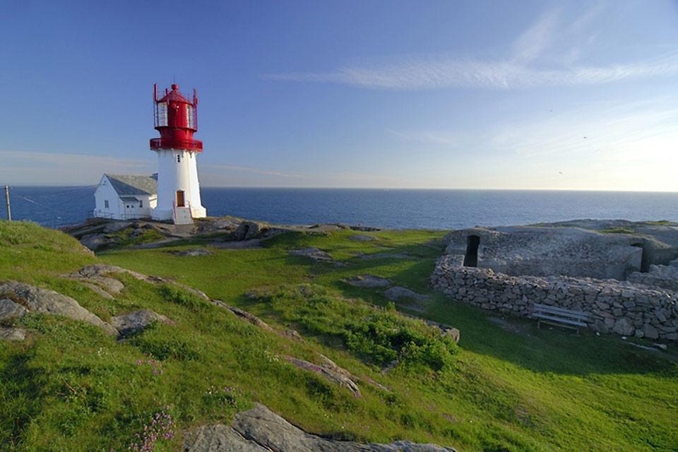 Il sud , Paesaggio naturale del sud della Norvegia , Norvegia