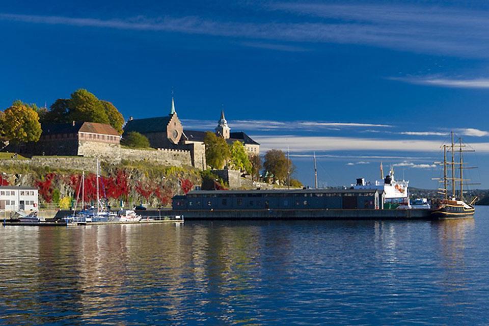 El sur , Un fiordo y su aldea , Noruega