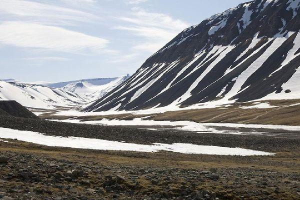 Il nord , Montagne innevate , Norvegia
