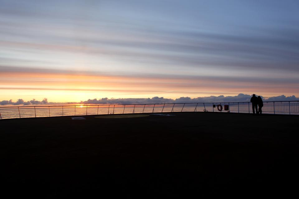 El Sol De Medianoche Noruega