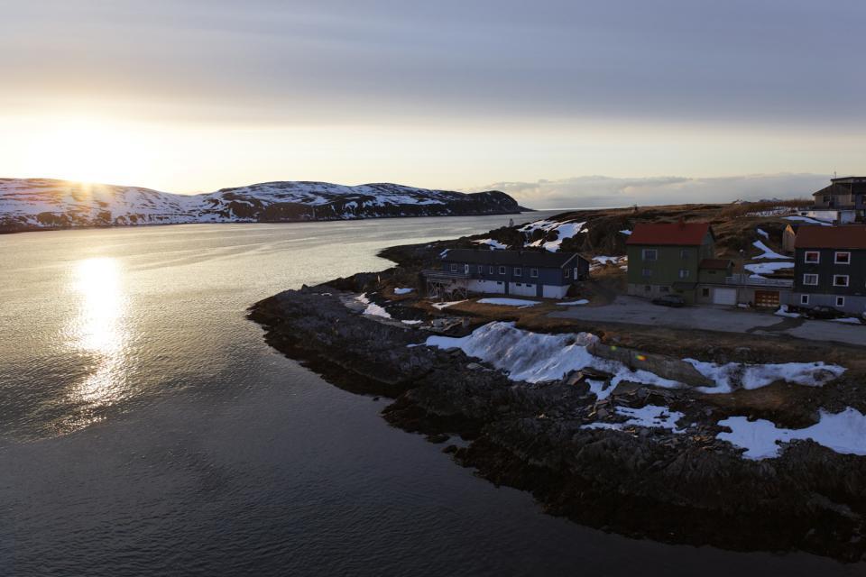 Il sole di mezzanotte , Sole di mezzonotte in Norvegia , Norvegia