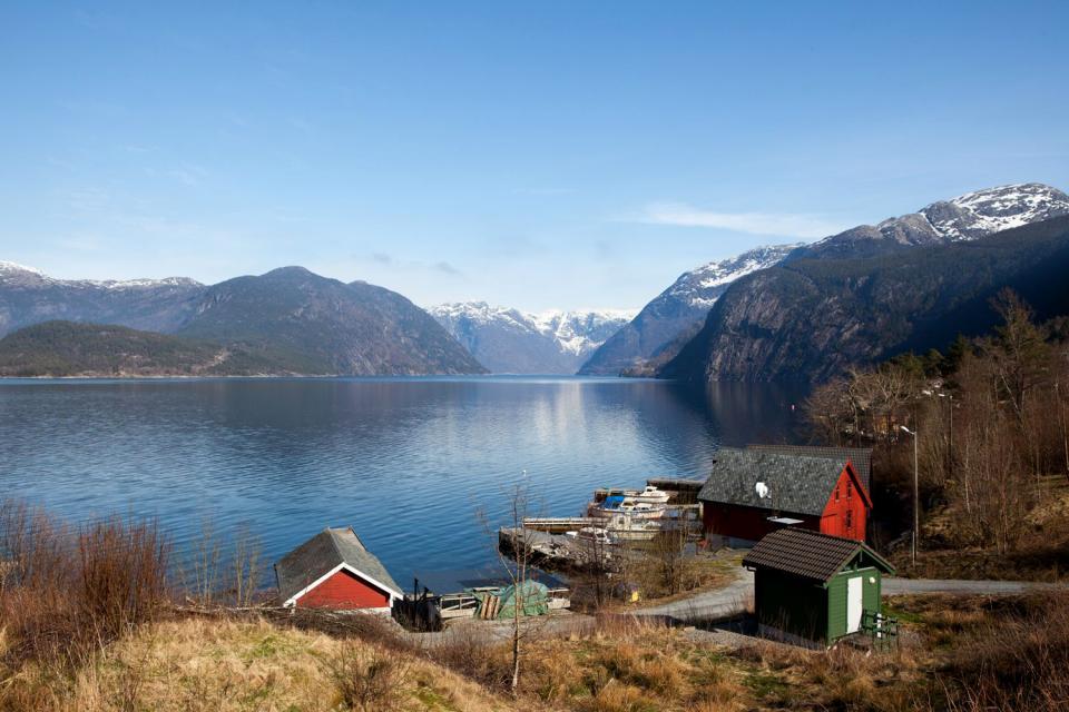 I fiordi , Norvegia