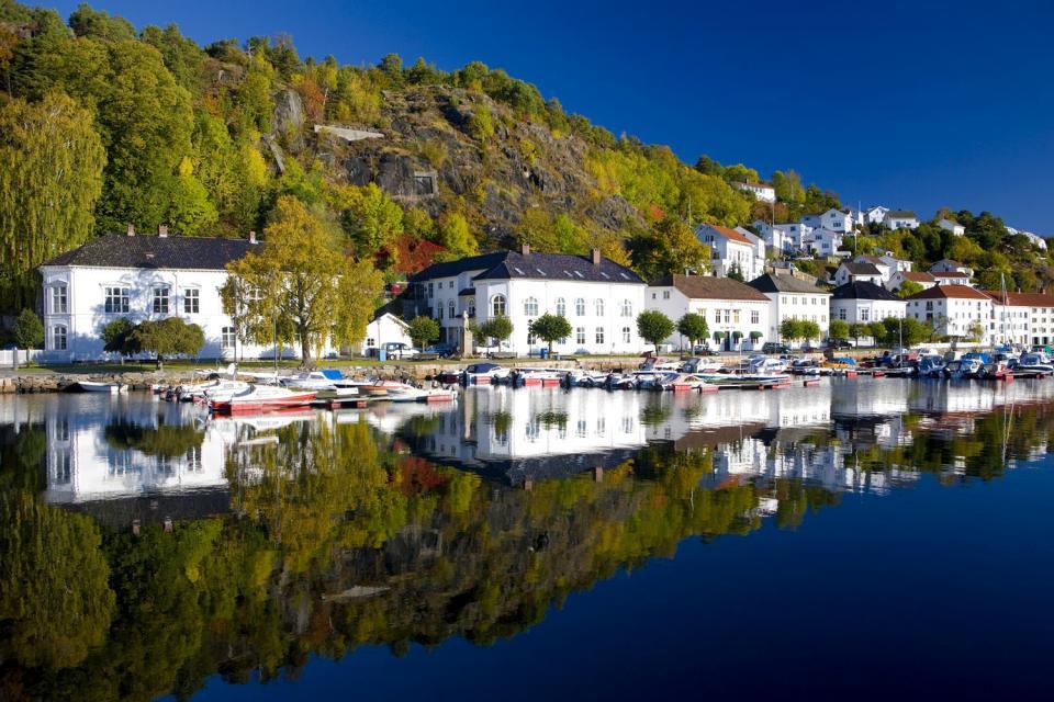 Die Badeorte des Südens , Norwegen