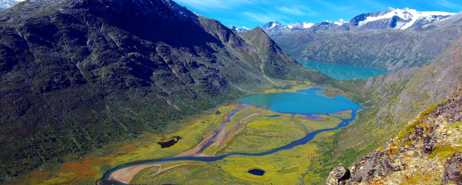 Der Nationalpark von Jotunheimen , Norwegen