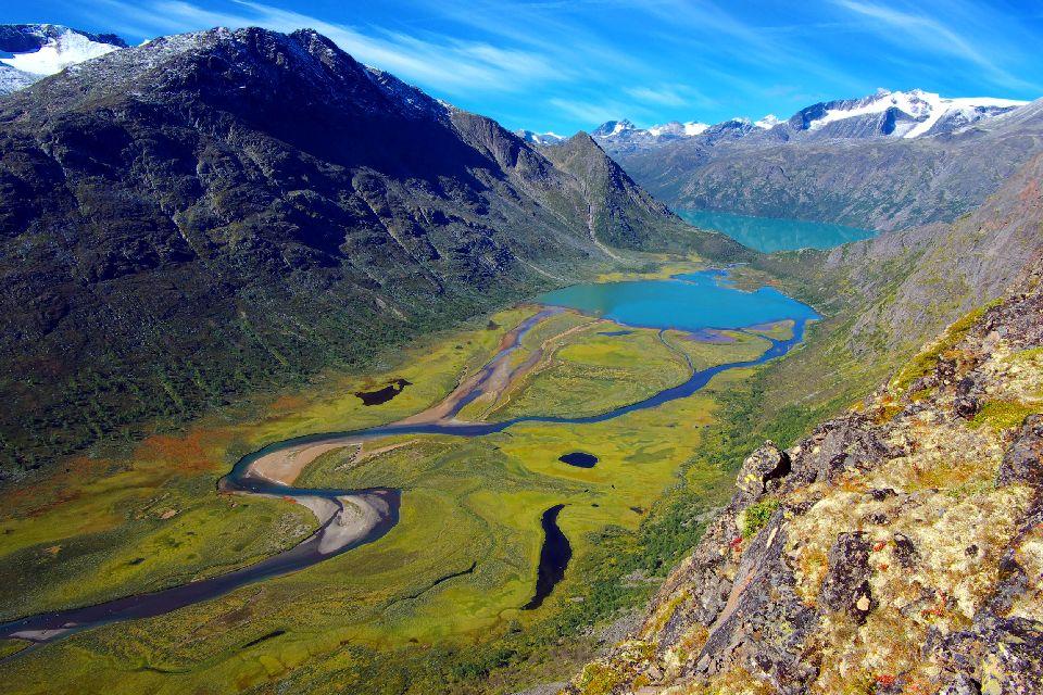 Le parc national de Jotunheimen  , Le parc national de Jotunheimen , Norvège
