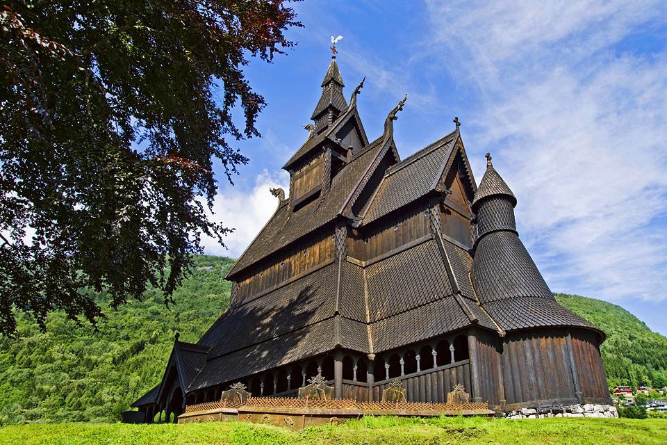 Les églises en bois , Norvège