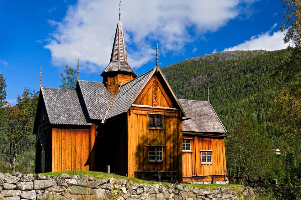 Le chiese di legno , Norvegia