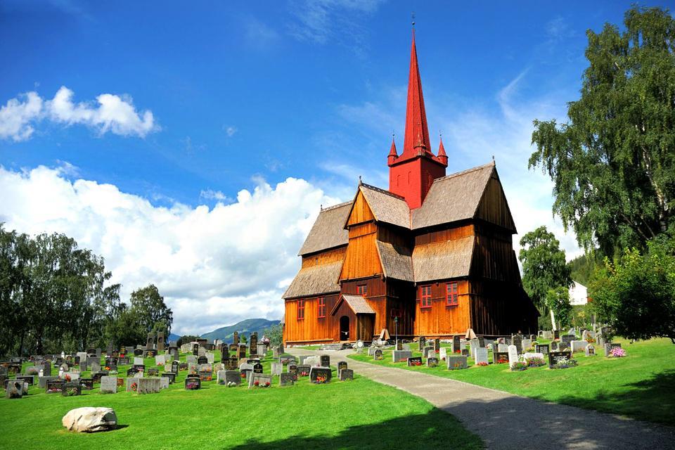 Le chiese di legno , Chiesa in legno norvegese , Norvegia