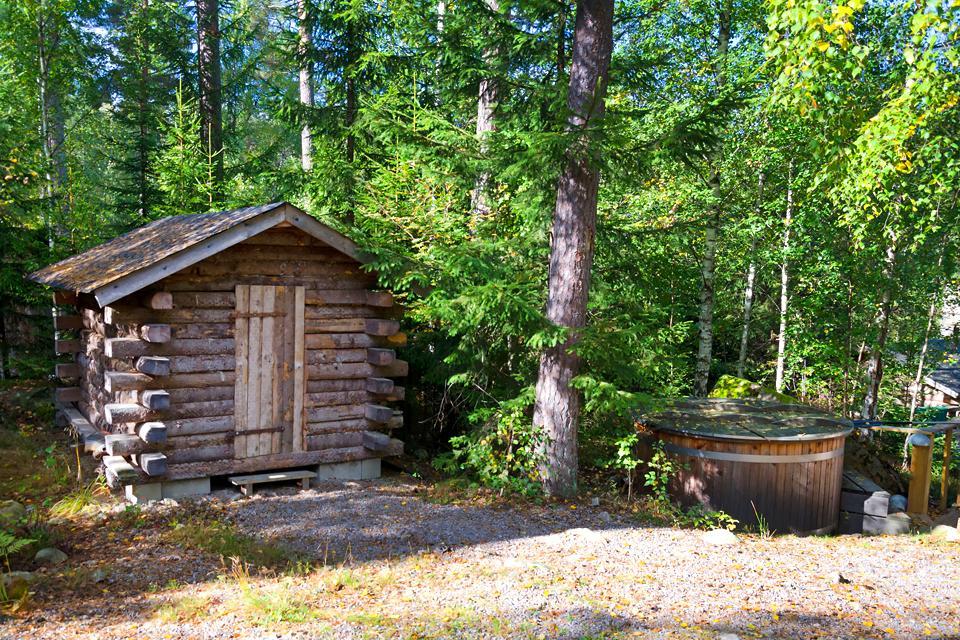 Le sauna  , Norvège