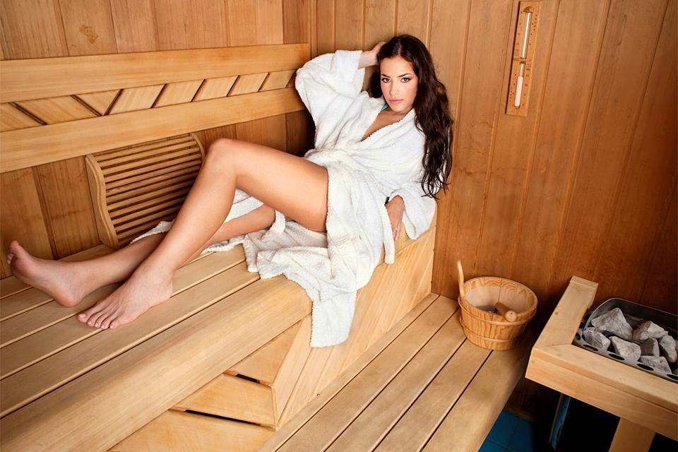 Le sauna  , Un sauna norvégien , Norvège