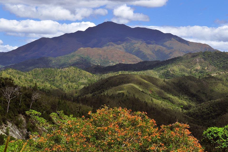 Grande Terre , Les montagnes , Nouvelle-Calédonie