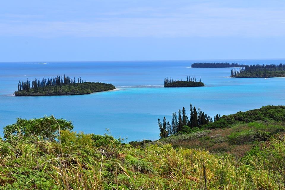 Die Insel der Pinien , der Nga-Gipfel , Neukaledonien