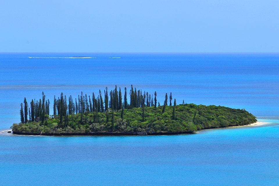 Die Insel der Pinien , der Nga-Gipfel , Die Pinien-Insel , Der Nga-Gipfel , Neukaledonien