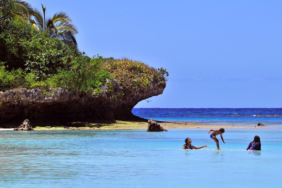 Les îles Loyauté , Lifou , Nouvelle-Calédonie