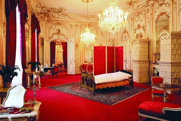 Der Kaiserpalast (4), Der Kaiserpalast, Die Schlösser, Wien, Österreich