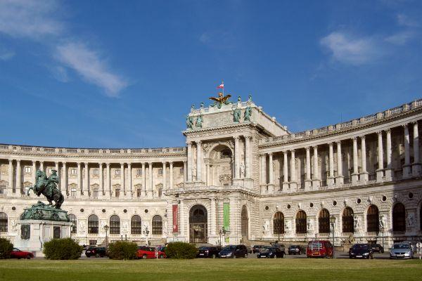 El palacio imperial , Austria