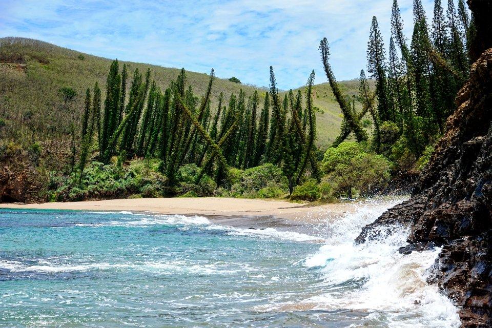 La baie des tortues, Grande Terre - La Roche Percée, Les côtes, Nouvelle-Calédonie