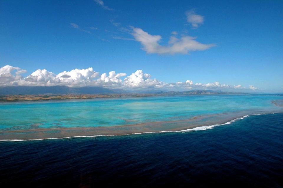 Les côtes, mélanésie, océanie, Caledonie, Grande-Terre, Nouvelle, france, lagon