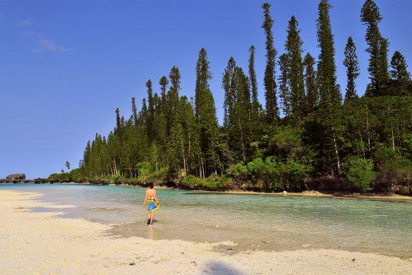 The Isle of Pines , The lagoon , New Caledonia
