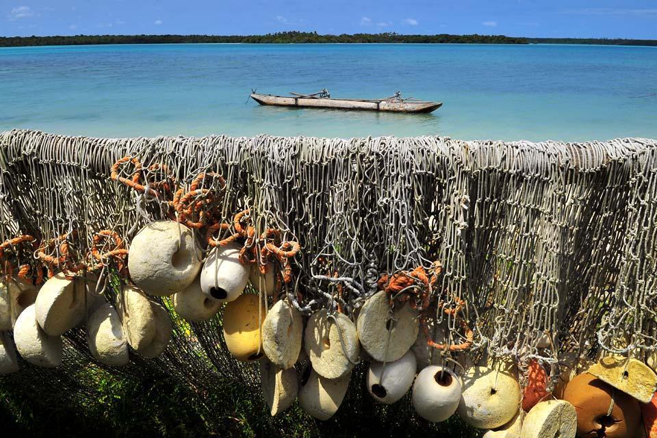 L'île des Pins , La baie d'Upi , Nouvelle-Calédonie