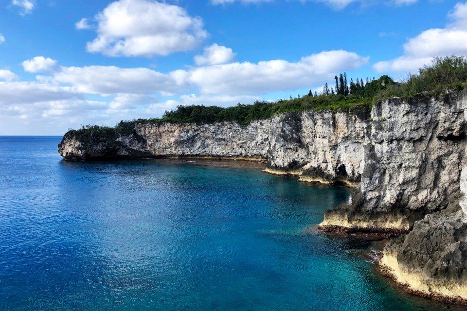 Les côtes, Caledonie, Grande-Terre, Nouvelle-Caledonie, océanie, france, île, maré, mélanésie, saut du guerrier