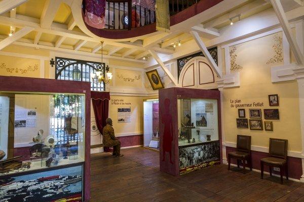 Grande Terre - Nouméa - Das Museum der Stadt, Die Künste und die Kultur, Neukaledonien