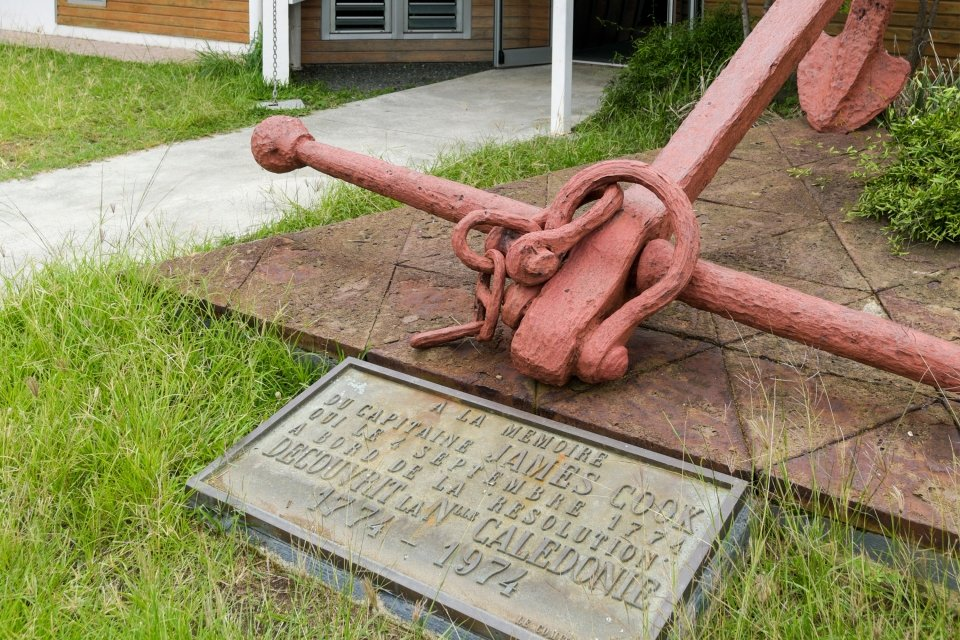 James Cook, Grande Terre - Nouméa - Le Musée maritime de Nouvelle-Calédonie, Les arts et la culture, Nouvelle-Calédonie
