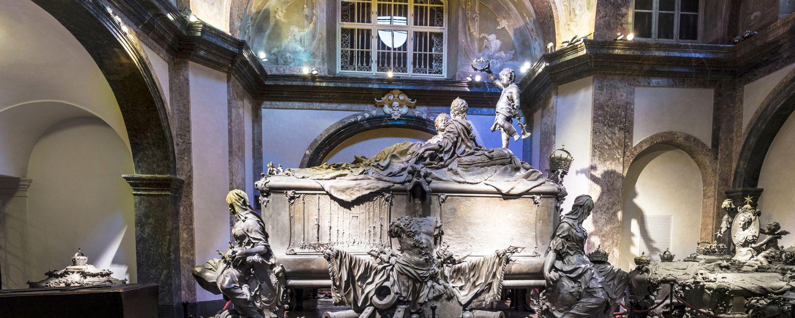 La Cripta imperial - Cripta de los Capuchinos, La Cripta imperial (Cripta de Capuchinos), Los castillos, Viena, Austria