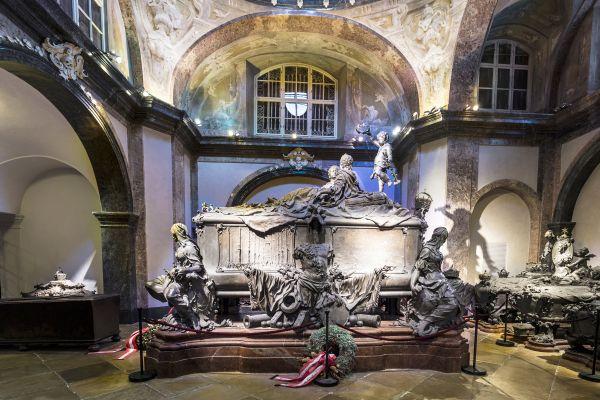 Die kaiserliche Krypta (Kapuzinergruft), Die Schlösser, Wien, Österreich