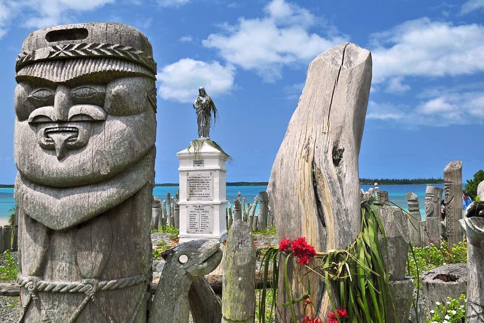 L'île des Pins , Les totems , Nouvelle-Calédonie