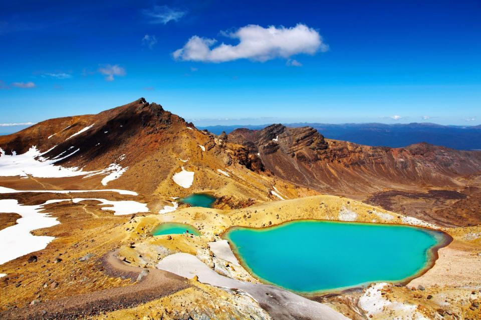 Nordinsel , der Nationalpark von Tongariro , Neuseeland
