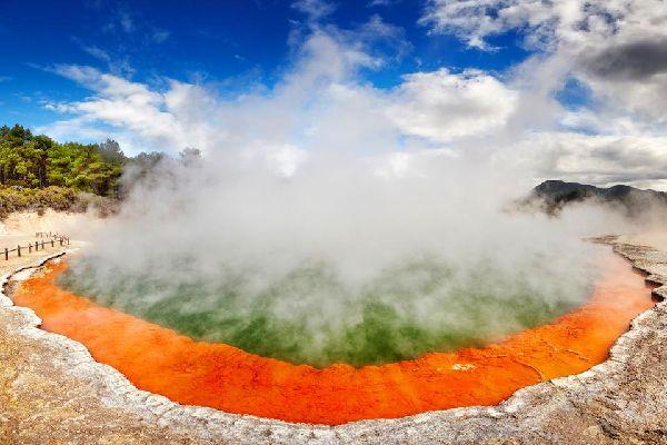 North Island , Los manantiales termales , North Island , Las fuentes termales , Nueva Zelanda