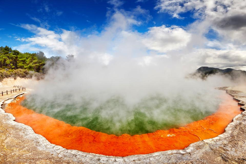 North Island , Spas , North Island , The thermal springs , New Zealand