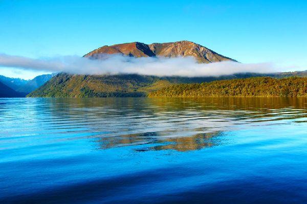 South Island , El Parque Nacional Lagos de Nelson , South Island , Los lagos de Nelson , Nueva Zelanda