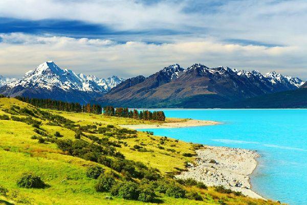 South Island , El Parque Nacional del Monte Cook , South Island-Parque Nacional del Monte Cook , Nueva Zelanda