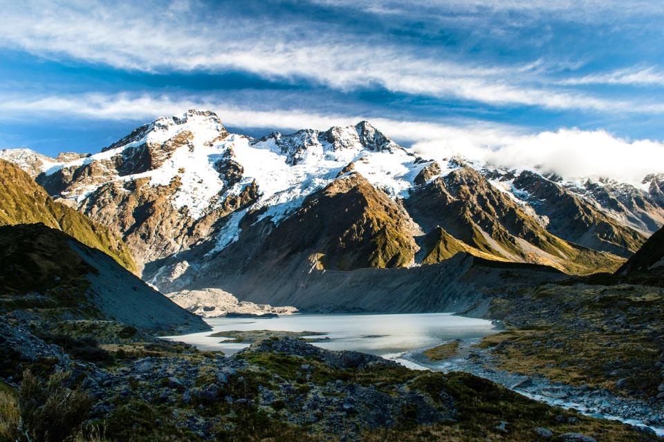South Island , Mount Cook national park , New Zealand