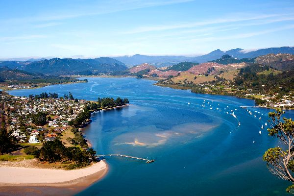 North Island , La península de Coromandel , Nueva Zelanda