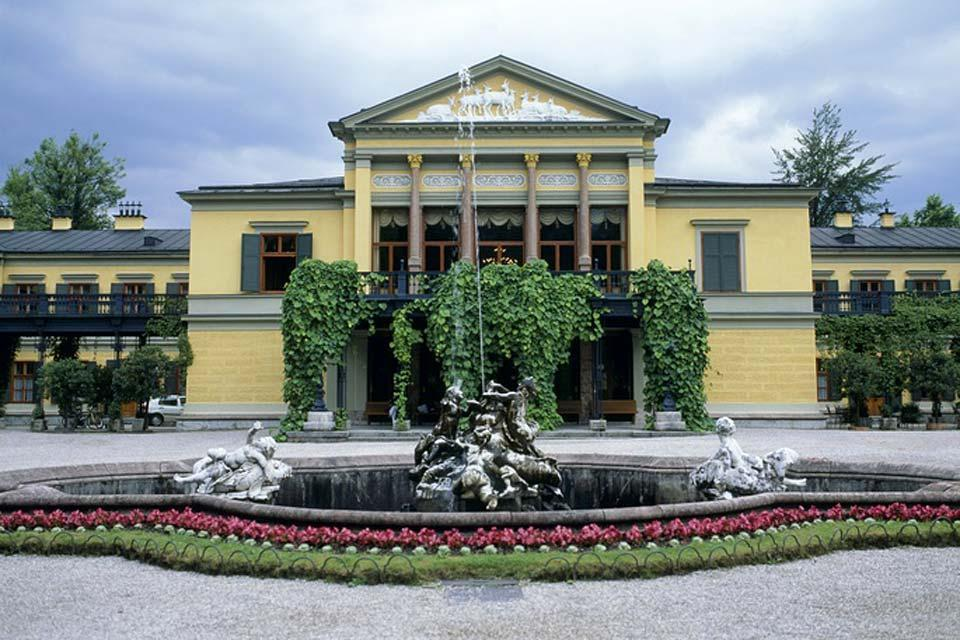 The Imperial Villa at Bad Ischl , The Imperial Villa in Bad Ischl , Austria