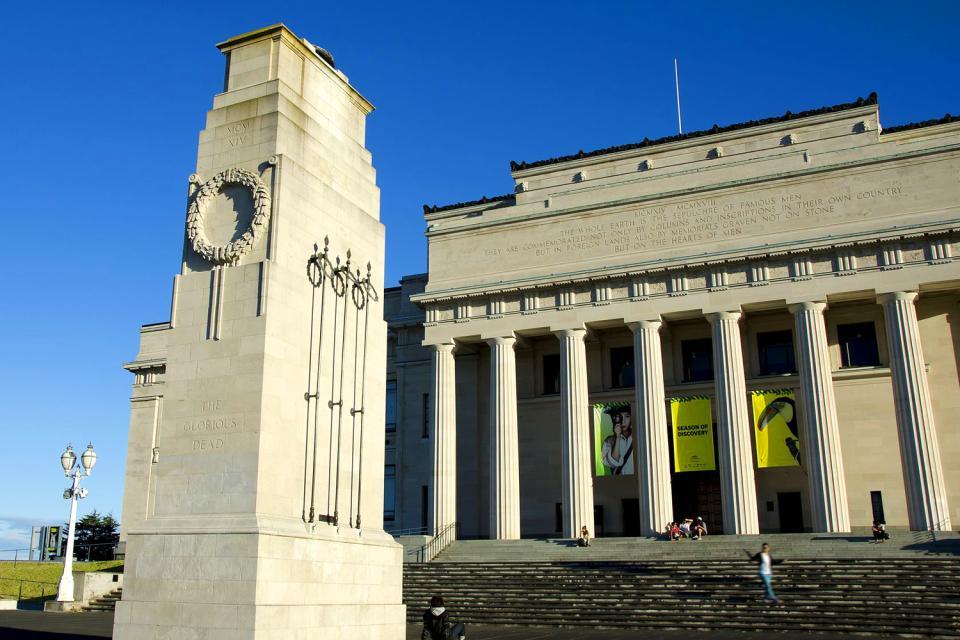 Das War Memorial Museum von Auckland , Neuseeland