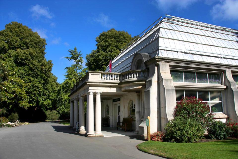 Das Canterbury Museum von Christchurch , Neuseeland