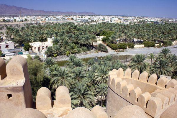 La pianura della Batinah, I paesaggi, Oman