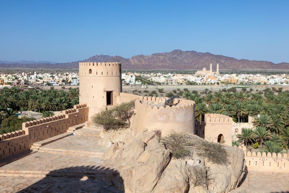 Les paysages, moyen-orient, Oman, batinah, Al Hajar, montagne, fort, nakhal