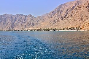 La péninsule du Musandam , La péninsule du Musandam, Zighy Bay , Sultanat d'Oman