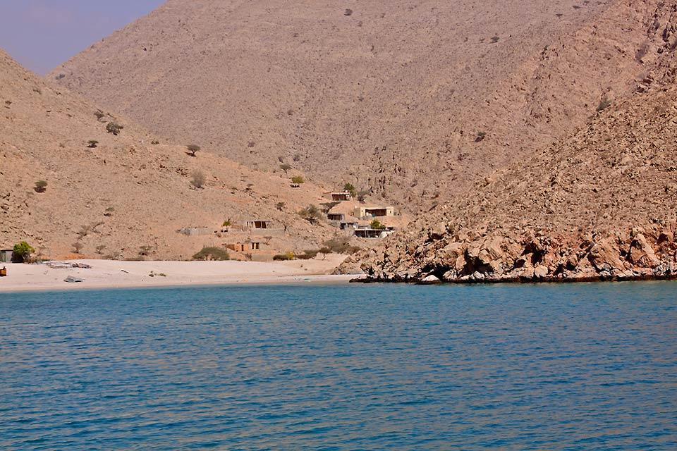 La péninsule du Musandam , Fjords de la péninsule du Musandam , Sultanat d'Oman